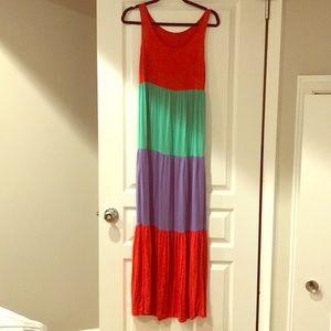 Kenzie flowing cotton dress